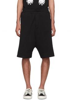 McQ Black Dart Low Crotch Shorts