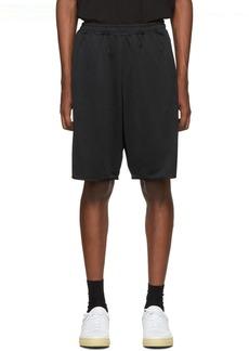 McQ Black Sports Shorts