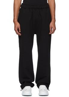 McQ Black Trackies Lounge Pants