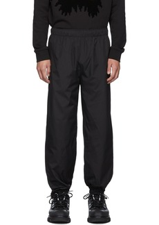 McQ Black Zipper Lounge Pants