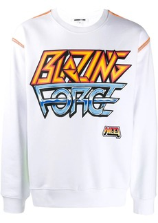 McQ 'Blazing Force' sweatshirt