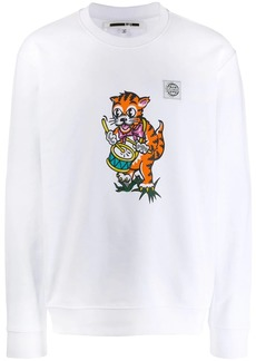 McQ Cat print sweatshirt