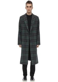 McQ Check Wool Coat