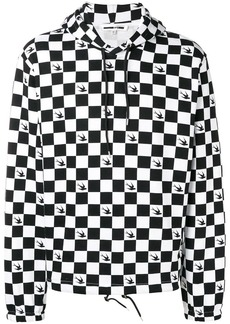McQ chess and swallow hoodie