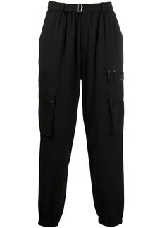 McQ contrasting rear patch track pants