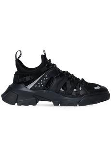 McQ Icon Zero Core Mesh & Leather Sneakers