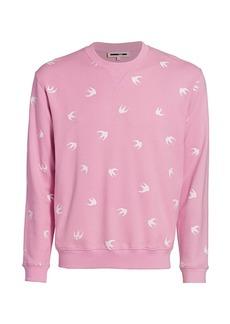 McQ Coverlock Crewneck Sweatshirt