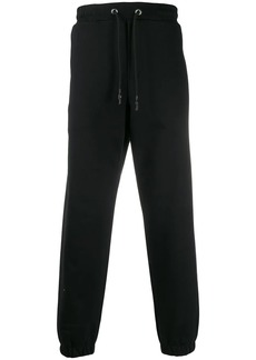 McQ cuffed stripe-detail track pants
