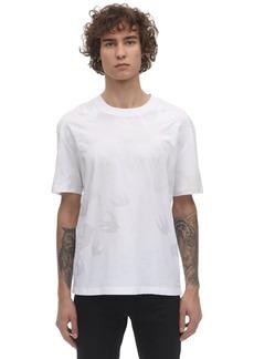 McQ Degradé Swallow Print Cotton T-shirt