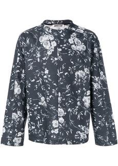 McQ floral print sweatshirt