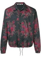 McQ floral shirt jacket