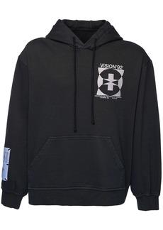 McQ Genesis Ii Cotton Sweatshirt Hoodie