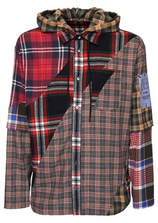 McQ Genesis Ii Patchwork Cotton Jacket