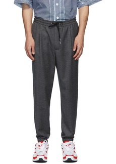 McQ Grey Tailored Track Trousers