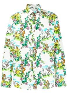McQ Holy Sheep print shirt