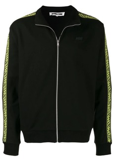 McQ Hyper logo zipped sweatshirt