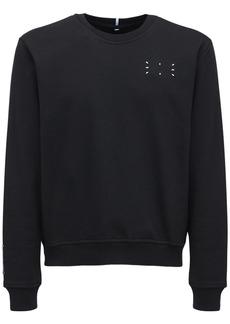 McQ Icon Zero Core Logo Cotton Sweatshirt