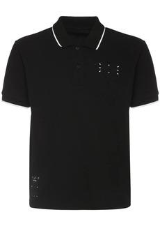 McQ Icon Zero Cotton Polo Shirt