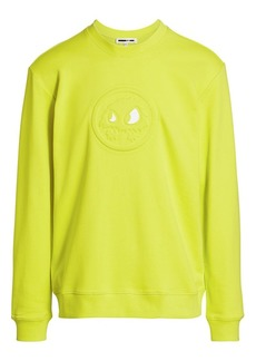McQ Logo Embossed Pullover Sweatshirt
