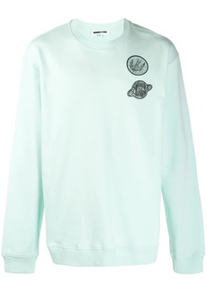 McQ logo patch sweatshirt