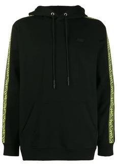 McQ logo stripe hoodie