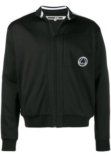 McQ logo zip sweatshirt