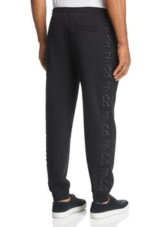 McQ Alexander McQueen Dart 3D-Embroidered Logo Sweatpants
