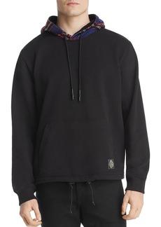 McQ Alexander McQueen Mixed-Media Hooded Sweatshirt