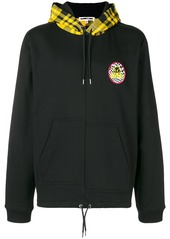 "McQ Odessey '93"" skater hoodie"