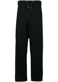 McQ stripe detail trousers
