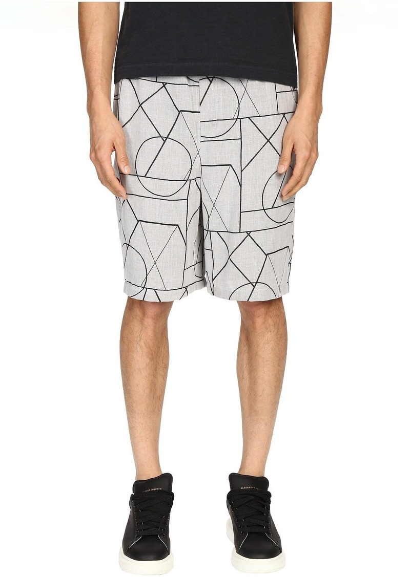 McQ Elasticated Shorts