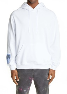McQ Embroidered Graphic Organic Cotton Hoodie