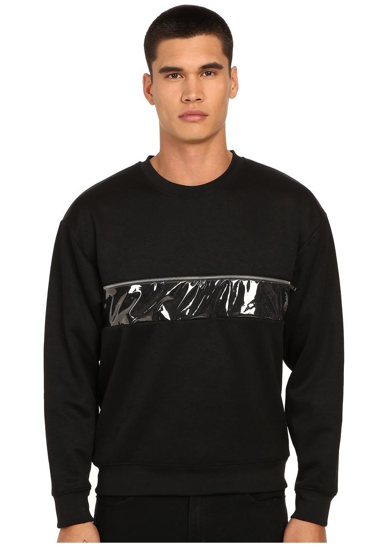 McQ Zip Oversized Sweatshirt