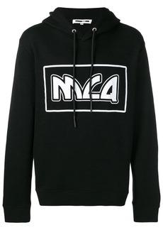 McQ metal logo hoodie