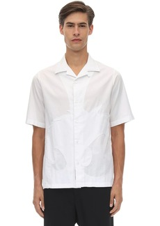 McQ Monster Cotton Twill Bowling Shirt