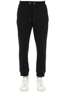 McQ Organic Cotton Sweatpants W/patch