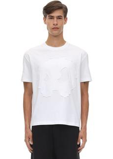 McQ Monster Print Cotton T-shirt