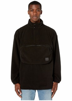 McQ Pocket Detail Fleece Rave Top