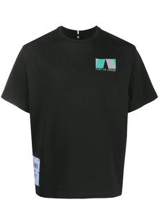 McQ Port of Origin print T-shirt