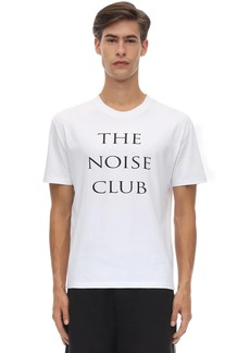 McQ Printed Cotton Jersey T-shirt