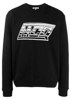 McQ printed logo sweatshirt
