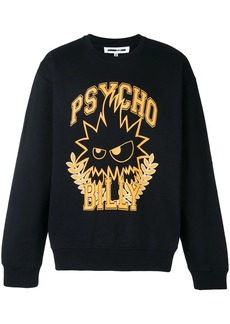 McQ Psycho Billy print sweatshirt