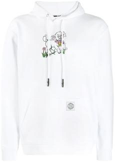 McQ sheep print hoodie