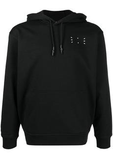 McQ signature stitch drawstring hoodie