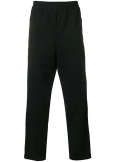McQ straight leg elastic trousers