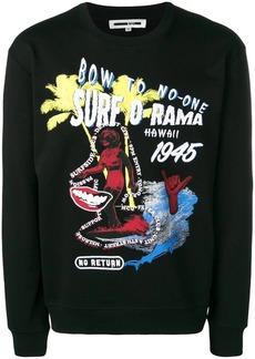 McQ Surf motif sweatshirt