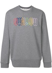 McQ Swallow embroidered sweatshirt