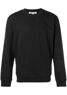 McQ swallow patch sweatshirt