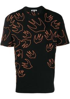 McQ swallow-print T-shirt