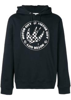 McQ Swallow printed hoodie